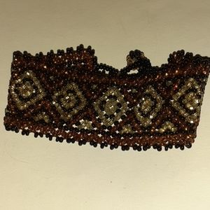Vintage Gorgeous Chrochet With Beads